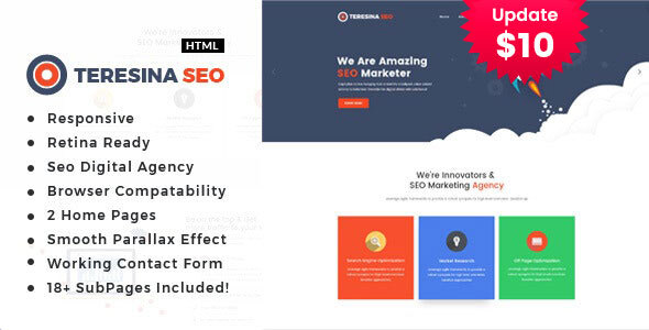 Teresina - Digital Marketing HTML Template