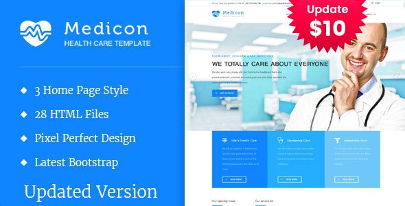Medicon - Health and Medical HTML Template by template_path