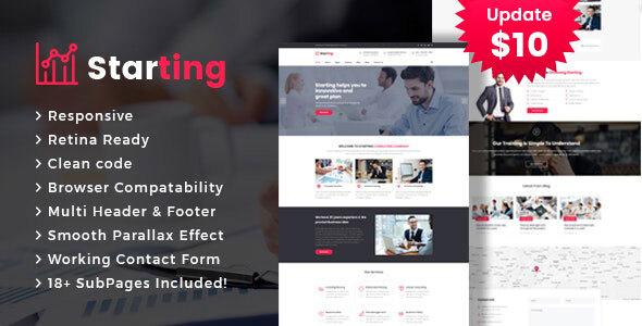 Starting - Business Consulting and Professional Services HTML Template by template_path