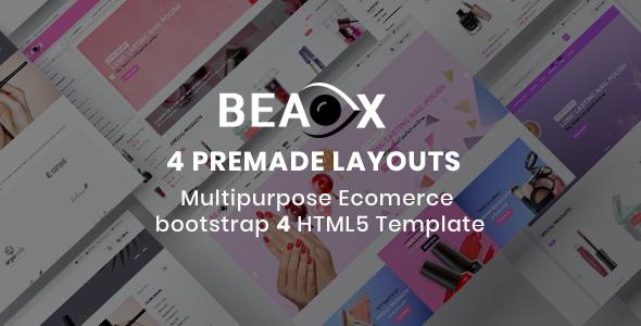 Beaox- Responsive Multipurpose E-Commerce HTML5 Template