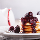 Pancakes with BlackBerry jam - PhotoDune Item for Sale