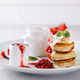 Pancakes with strawberry jam - PhotoDune Item for Sale