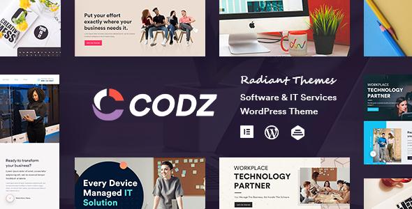 Codz – Software & IT Services Theme