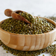 Dried mung beans in a bowl with a spoon - PhotoDune Item for Sale
