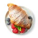 freshly baked sweet croissant - PhotoDune Item for Sale