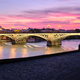 Triana Bridge In Seville Spain At Sunset - PhotoDune Item for Sale