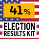 United States Election Results Kit - VideoHive Item for Sale