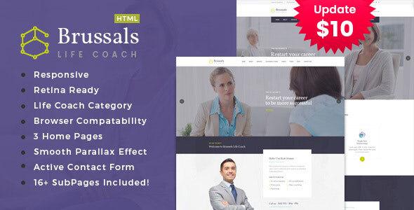 Brussals - Personal Development Coach HTML Template by TonaTheme