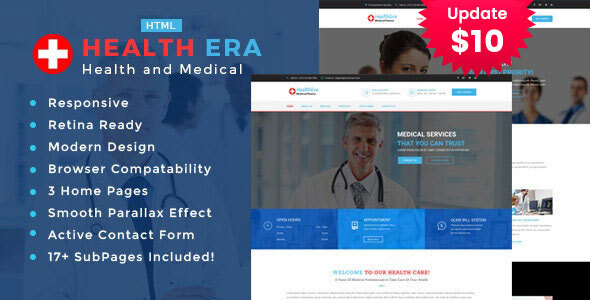 Health Era - Medical HTML Template by TonaTheme