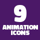 Animation Icons Pure CSS