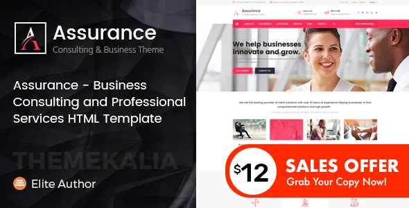 Assurance - Business Consulting Services HTML Template