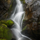 Water Stream collapses among Huge Mossy Granite Rocks - PhotoDune Item for Sale