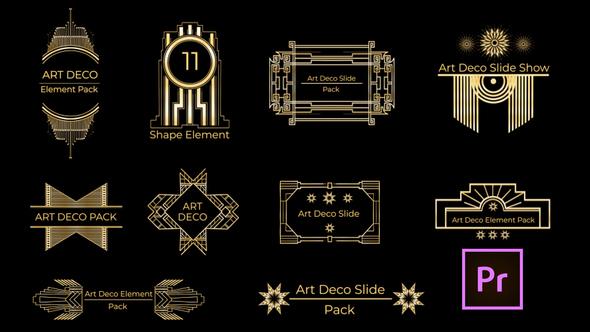 Art Deco Element Pack