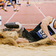 athlete with disability in prosthetic long jump - PhotoDune Item for Sale