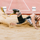 athlete disabled amputee long jump - PhotoDune Item for Sale