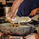 Murukku Indian street food Rajasthan state in western India. - PhotoDune Item for Sale