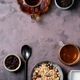 Granola breakfast in ceramic bowl - PhotoDune Item for Sale