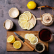 Black tea in glass cup - PhotoDune Item for Sale