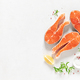 Salmon. Fresh raw salmon fish fillet - PhotoDune Item for Sale