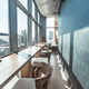 Restaurant interior with panoramic view - PhotoDune Item for Sale