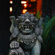 Old stone lion decorated in Bali garden - PhotoDune Item for Sale