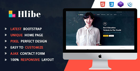 Hlibe || Education HTML5 Template