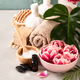 Accessories for spa procedures. Natural ingredients and flowers - PhotoDune Item for Sale