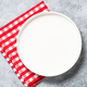 Table setting with white plate and cutlery top view - PhotoDune Item for Sale