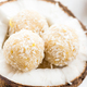 Homemade Raw Vegan Coconut and Lemon Truffles - PhotoDune Item for Sale