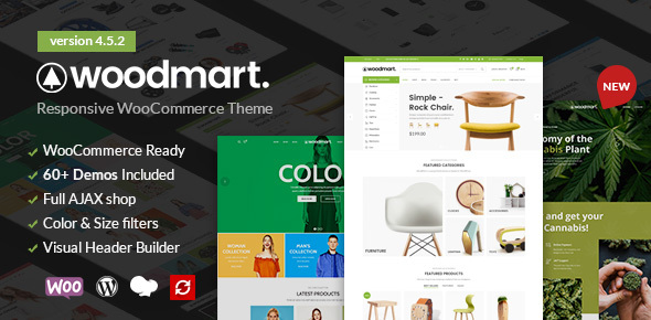 Excellent WoodMart - Responsive WooCommerce WordPress Theme