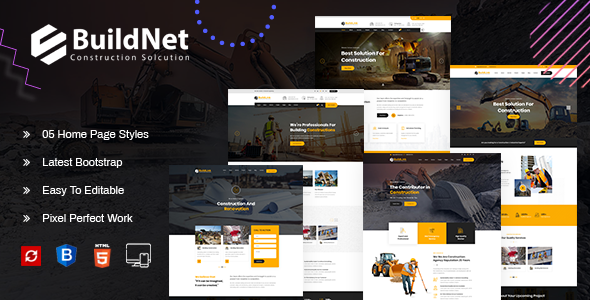 Fabulous BuildNet : Multipurpose Construction Template