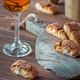 Cantuccini with a glass of Italian dessert wine - PhotoDune Item for Sale