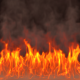 Realistic Fire Flames With Smoke - VideoHive Item for Sale