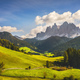 Funes Valley aerial view and Odle mountains, Dolomites Alps, Italy. - PhotoDune Item for Sale