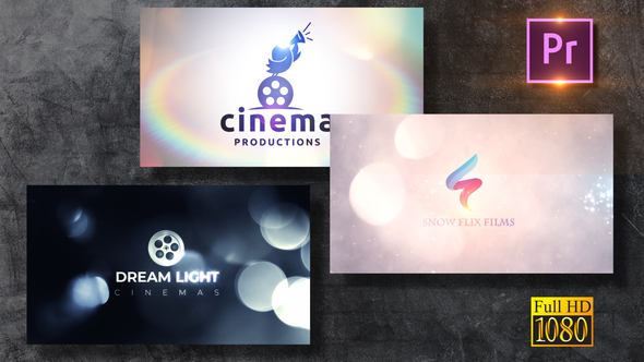 Bokeh Logo Revealers Pack Premiere PRO