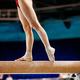 legs women balance beam gymnastics - PhotoDune Item for Sale