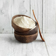 Teff flour in a bowl with a spoon - PhotoDune Item for Sale