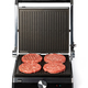 electric grill and raw burger meat - PhotoDune Item for Sale