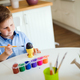 Cute little boy painting easter eggs - PhotoDune Item for Sale