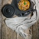 Stewed pork loin with mushrooms. - PhotoDune Item for Sale