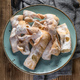 Faworki decorated with powdered sugar. - PhotoDune Item for Sale