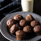 Tasty chocolate muffins. Sweet cupcakes. - PhotoDune Item for Sale