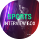 Sports Interview Box Template - VideoHive Item for Sale