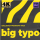 Big Bold Typography - VideoHive Item for Sale