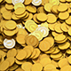 Golden Coins Falling - VideoHive Item for Sale