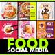 Social Media - FOOD - VideoHive Item for Sale