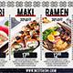 Asian Restaurant Menu - VideoHive Item for Sale
