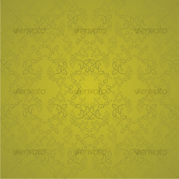 Swirl golden pattern - Backgrounds Decorative