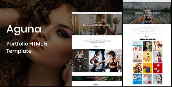 Special Aguna - Portfolio HTML 5 Template