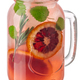 Blood orange rosemary melissa lemonade jar, paths - PhotoDune Item for Sale